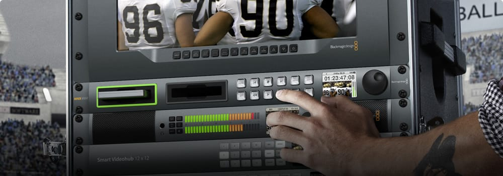 Blackmagic Design Disk Recorders