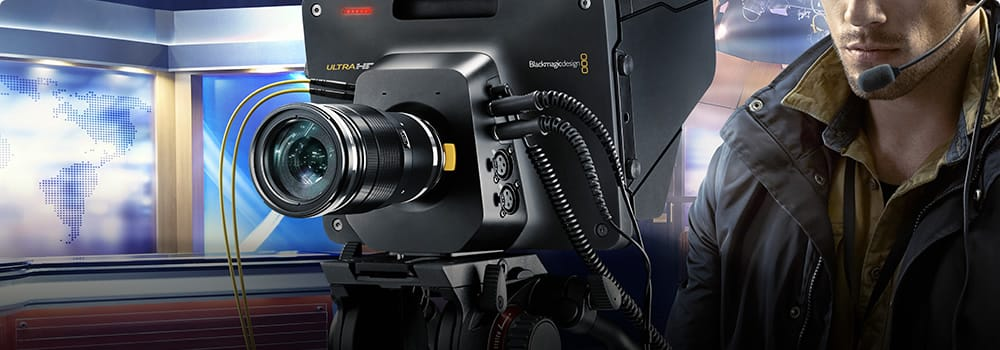 Blackmagic Design Live Production Cameras