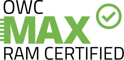 OWC MAX RAM certified